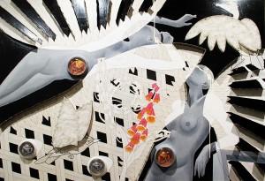 #20 - 2011 - tecnica mista - 180x125 cm