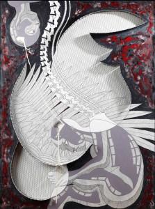 #5 - 2008 - tecnica mista - 90x125 cm
